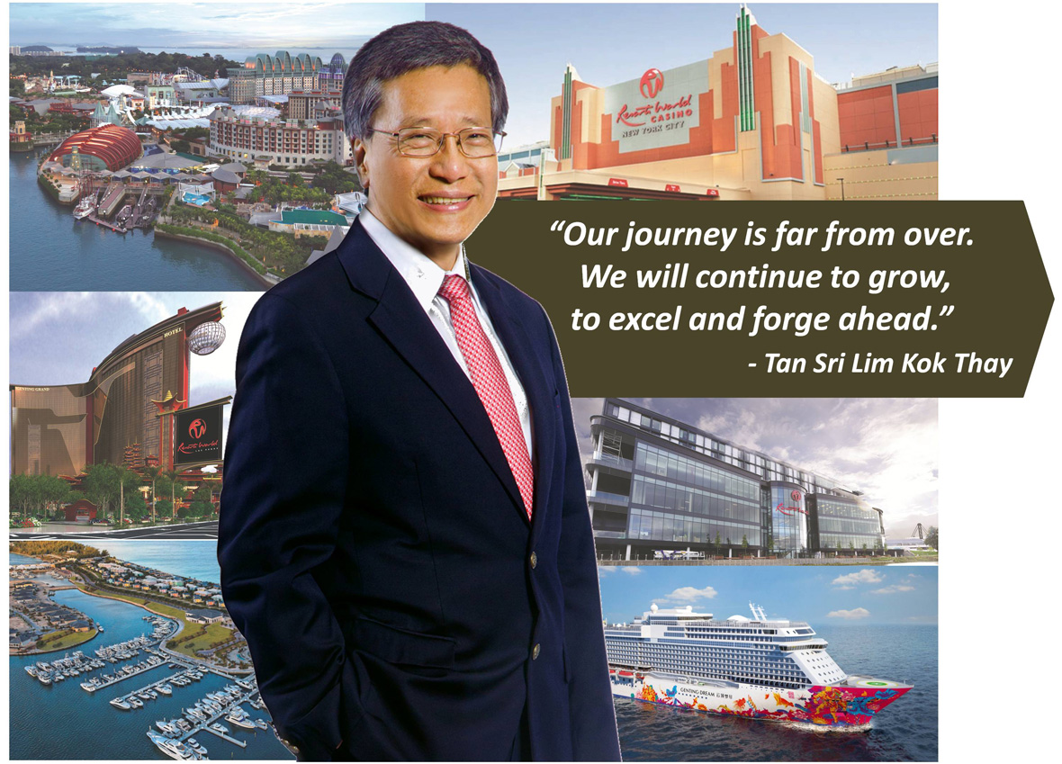 lim goh tong leadership In business, i believe in going step by step, slowly but surely to seek out opportunities with good potential and build on them - the late tan sri lim goh tong, founder of genting group the genting story leadership, financial prudence and sound investment.